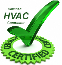 Certified HVAC Contractor, logo