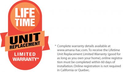 Live Time Unit Replacement Limited Warranty