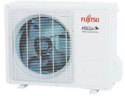 Fujitsu mini split outside