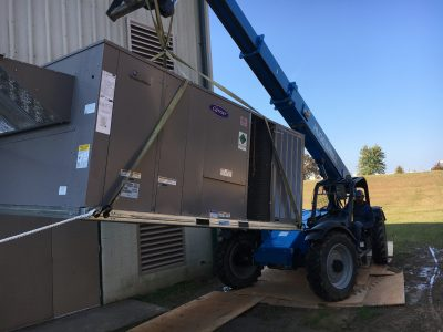 Repaired AC Unit by Mathis HVAC Services in Conway, AR