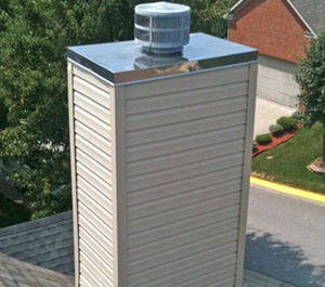 Custom Chimney Roof made of Sheet Metal in Conway, AR