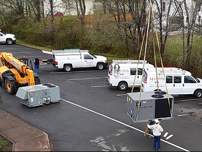 Carl Stuart Change Out by Mathis HVAC Services in Conway, AR
